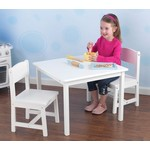 Aspen Table and Chair Set - White